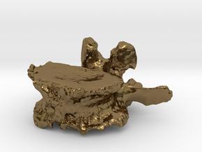 ICS1992SR50 Lumbar Vertebra in Polished Bronze