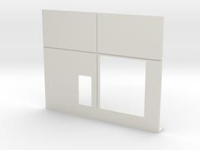 Cargo Roll Door; No Ramp in White Natural Versatile Plastic
