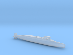 FS Redoutable-class SSBN, Full Hull, 1/2400 in Smooth Fine Detail Plastic