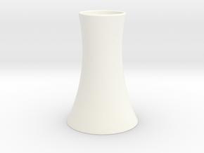 Vase 2 in White Processed Versatile Plastic