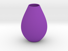 Vase 5 H Bis in Purple Strong & Flexible Polished