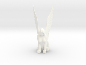 Sphinx in White Processed Versatile Plastic