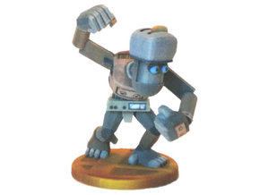 Junk Robot in Full Color Sandstone