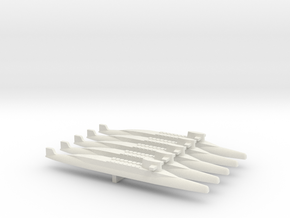 FS Redoutable-class SSBN x 5, 1/2400 in White Natural Versatile Plastic