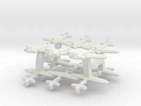 Fairey Firefly (Triplet) 1:900 x4 in White Natural Versatile Plastic