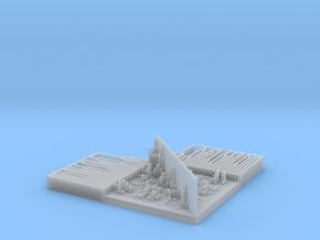 TRPV1 Structure vs Structure Heatmap in Smooth Fine Detail Plastic