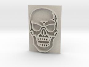 Skull in Natural Sandstone