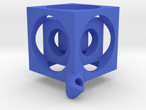 Henkk's Cube in Blue Processed Versatile Plastic