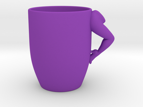 Sexy Coffee Mug in Purple Processed Versatile Plastic