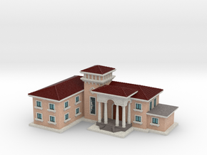 Mansion in Full Color Sandstone