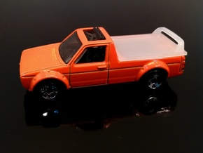 VW Caddy Hard cover Hotwheels in Frosted Extreme Detail