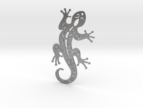 Gecko  in Natural Silver