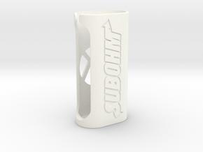 Subox case (Subohm design)  in White Processed Versatile Plastic
