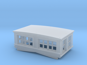 CN GT GTW Cupola S Scale in Smooth Fine Detail Plastic