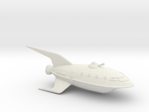 1/537 Futurama Planet Express (WSF Solid) :-) in White Natural Versatile Plastic
