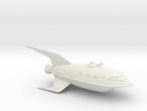 1/537 Futurama Planet Express (WSF Solid) :-) in White Natural Versatile Plastic