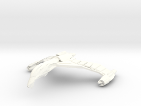 FireHawk Bird Of Pray  Wings Down in White Processed Versatile Plastic