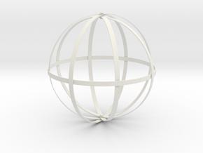 Dyson Sphere in White Natural Versatile Plastic