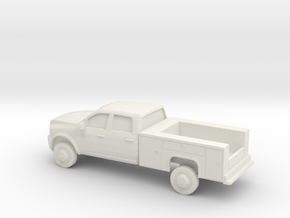 1/87 2013 Dodge Ram Crew Service Truck in White Strong & Flexible