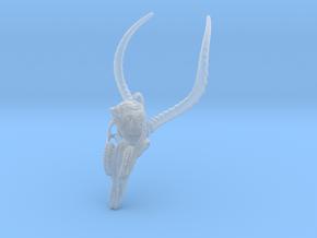 Impala Skull Pendant in Smooth Fine Detail Plastic