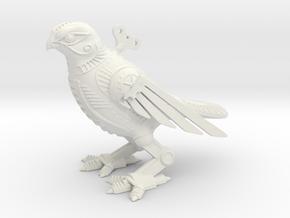 Horus Steampunk Falcon in White Natural Versatile Plastic