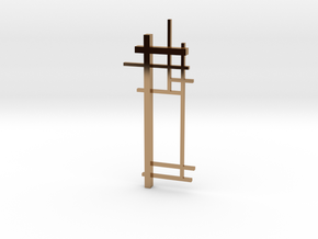 De Stijl: Composition No. 2 in Polished Brass