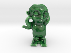 Turnip Prince 怪物狩猎 Monster Hunt Porcelain in Gloss Oribe Green Porcelain