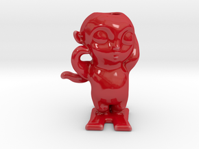 Turnip Prince 怪物狩猎 Monster Hunt Porcelain in Gloss Red Porcelain