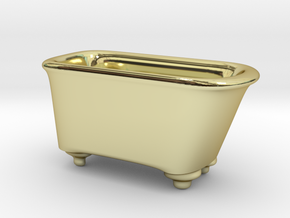 piggy tub 'money pit' in 18k Gold Plated Brass