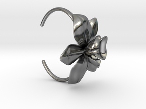Orchid Bracelet- Metal Version in Polished Silver