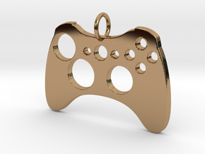 Xbox One Controller in Polished Brass