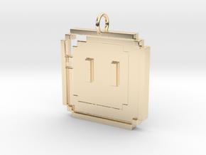Mario Box in 14K Yellow Gold