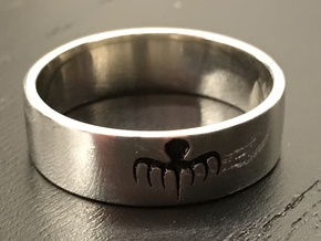 Spectre Ring - Size 11 in Natural Silver