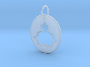 Mandelbrot Pendant in Smooth Fine Detail Plastic