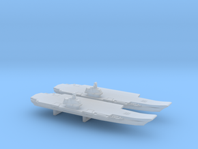Ulyanovsk-Class CV x 2, 1/6000 in Smooth Fine Detail Plastic