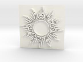 Sun1 in White Processed Versatile Plastic