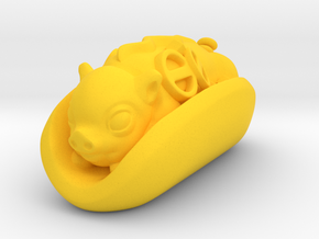 Hotpig in Yellow Processed Versatile Plastic