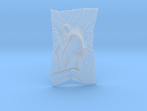 Shroud shape penholder 006 in Smooth Fine Detail Plastic