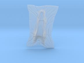 Shroud shape penholder 007 in Smooth Fine Detail Plastic