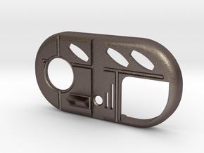 Screen Accurate Vortex Manipulator in Polished Bronzed Silver Steel
