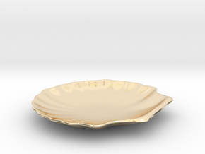 Shell Dish in 14K Gold