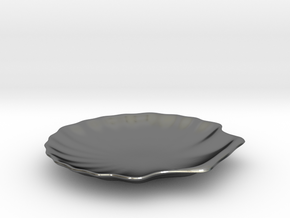 Shell Dish in Polished Silver