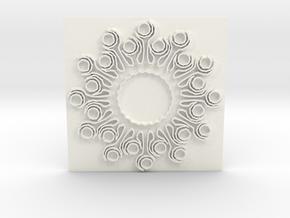 Sun2 in White Processed Versatile Plastic
