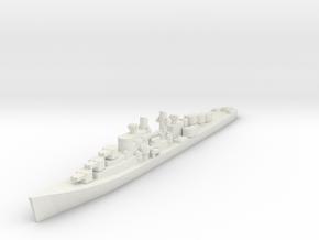 USN Atlanta class cruiser 1/1800 in White Natural Versatile Plastic