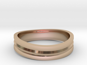 Ring of awesome in 14k Rose Gold Plated Brass
