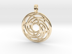 BREATH OF LIFE in 14K Yellow Gold