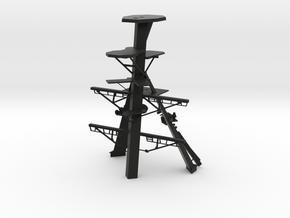 1/96 scale National Security Cutter - Main Mast in Black Natural Versatile Plastic