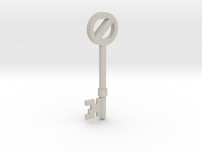 Return To Oz Key in Natural Sandstone