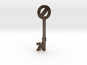 Return To Oz Key in Polished Bronze Steel