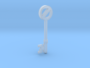 Return To Oz Key in Smooth Fine Detail Plastic